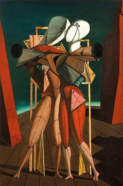 De Chirico, Carrà, Ernst, Magritte, Ray, Dalì, da www.palazzodiamanti.it