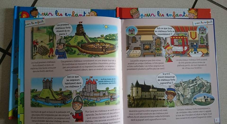 Dans ma Bibliothèque #23 : Les Châteaux Forts pour les enfants
