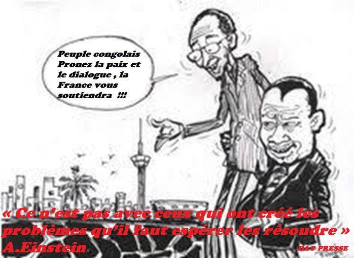 BONNE JOURNEE A TOUS LES VRAIS RESISTANTS. VOUS ETES DU BON COTE DE L'HISTOIRE ET DU FUTUR PROCHE DU CONGO BRAZZAVILLE.