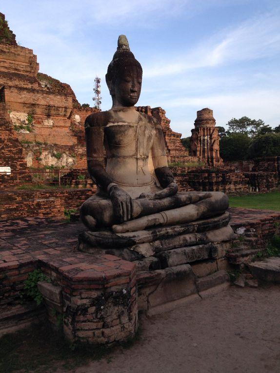 Thaïlande : J+8 : départ de Sukhothaï pour Ayuthaya