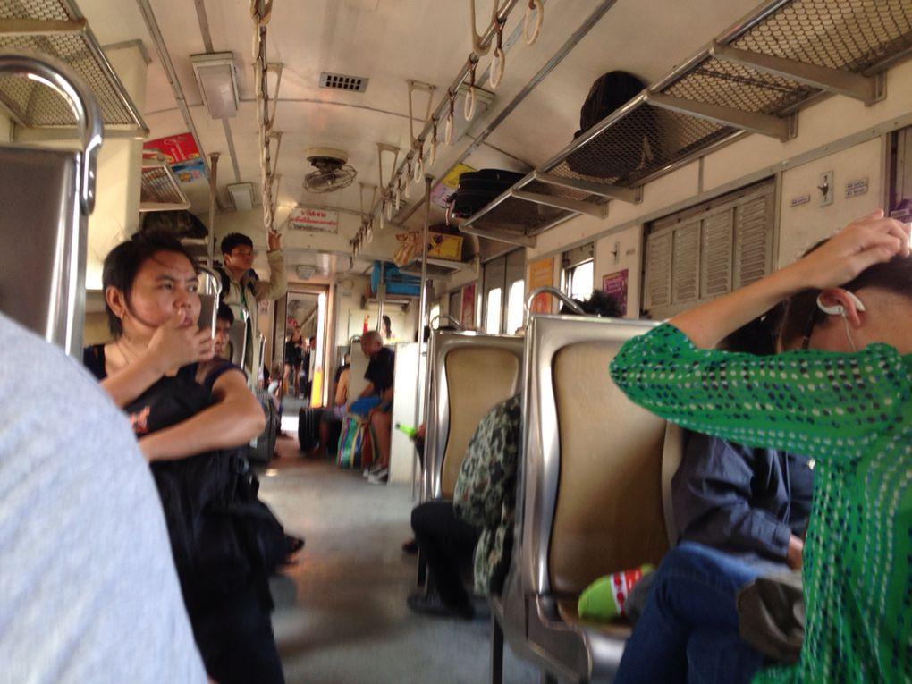 Thaïlande : J+9 - départ de Ayuthaya pour Bangkok
