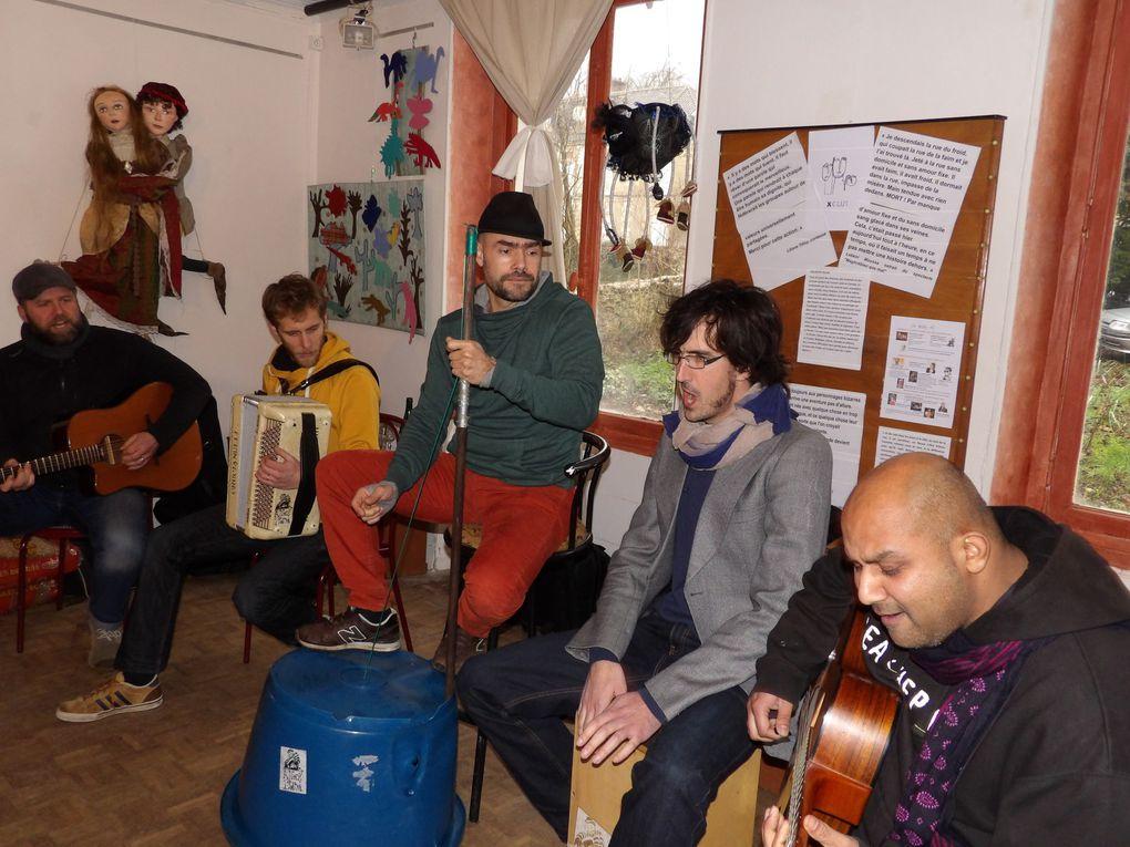 Xclux: samedi 13 février en parole et en musique dans la maison Daudet