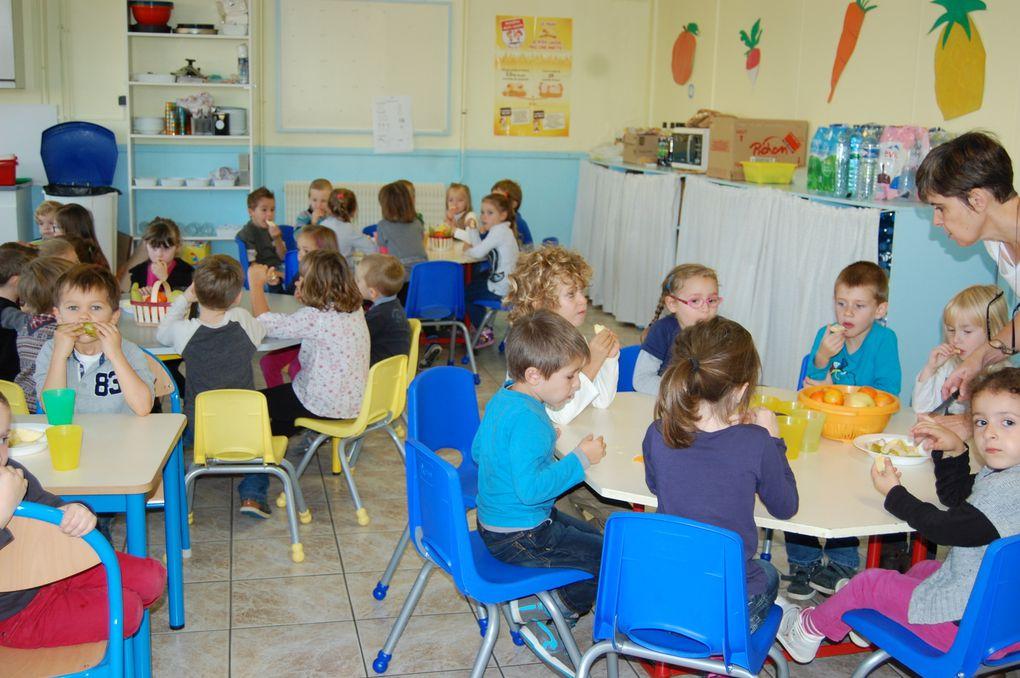 Petit déjeuner à l'école...