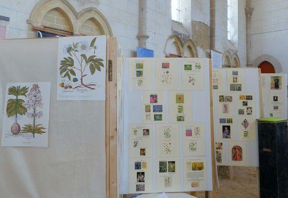 C'est dans ce bel écrin de verdure, avec sa corniche de Pail en fond de tableau que l'exposition des jardins de curé a connu un grand succès les 13-14-15 juillet 2014