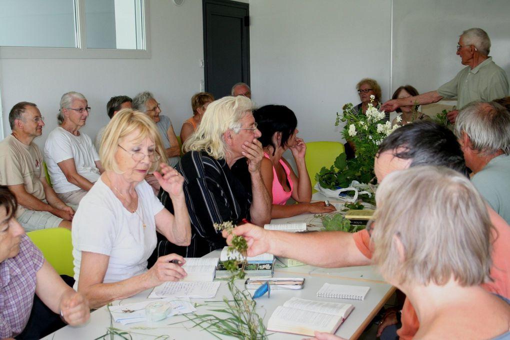 dimanche 5 juillet, c'était la Journée Fédérale Botanique de la Fédération Centre-Est