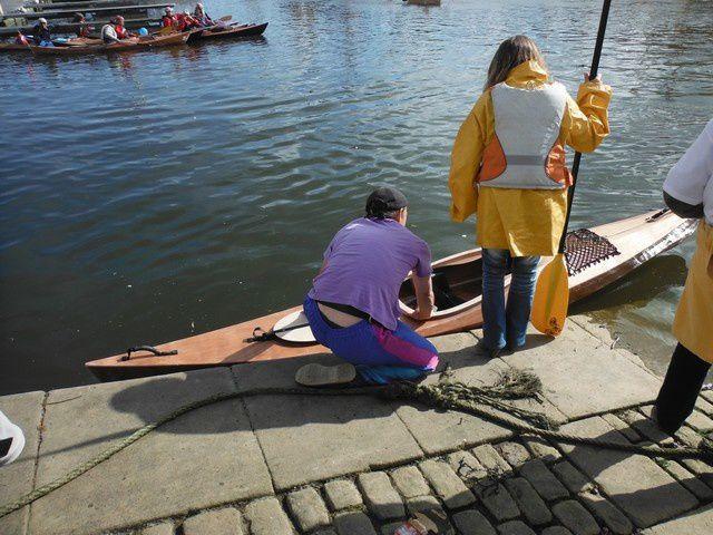 Kayak LEO / Mise-à-l'eau / Semaine du Golf 2013