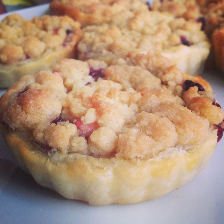 Crumble pomme/cassis