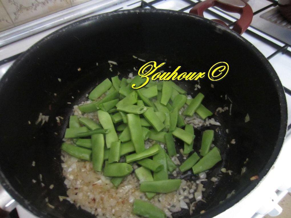 Haricot vert en sauce ou ragout