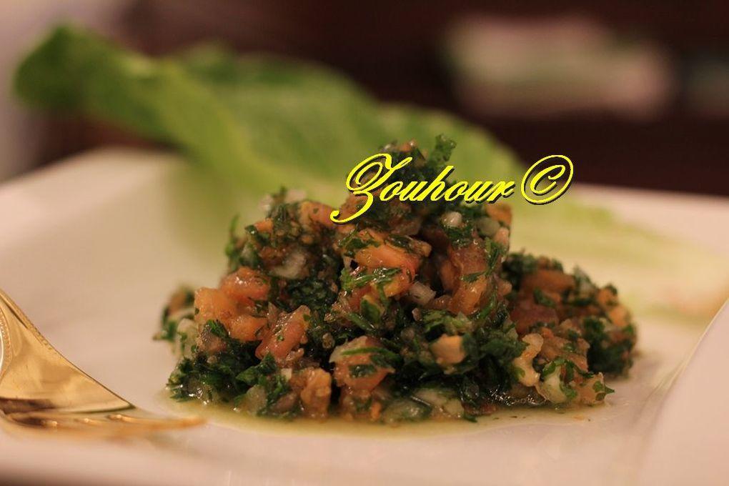 Salade de Tabbouleh (Tabbouleh salad)