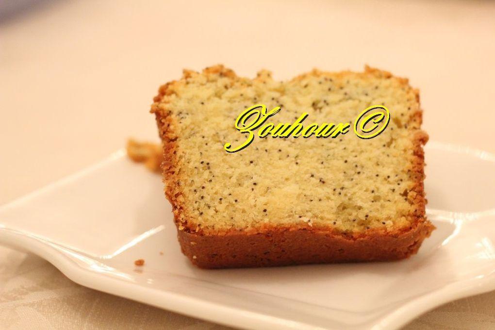 Cupcake ou Cake à la graine de pavot