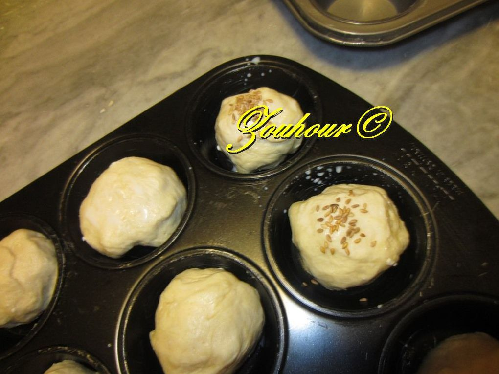 Muffins aux fromages (Cheese muffins)
