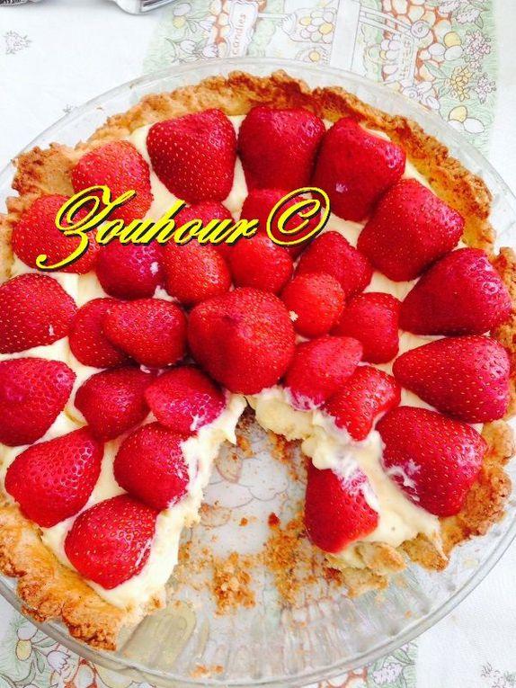 Tarte aux fraises classiques