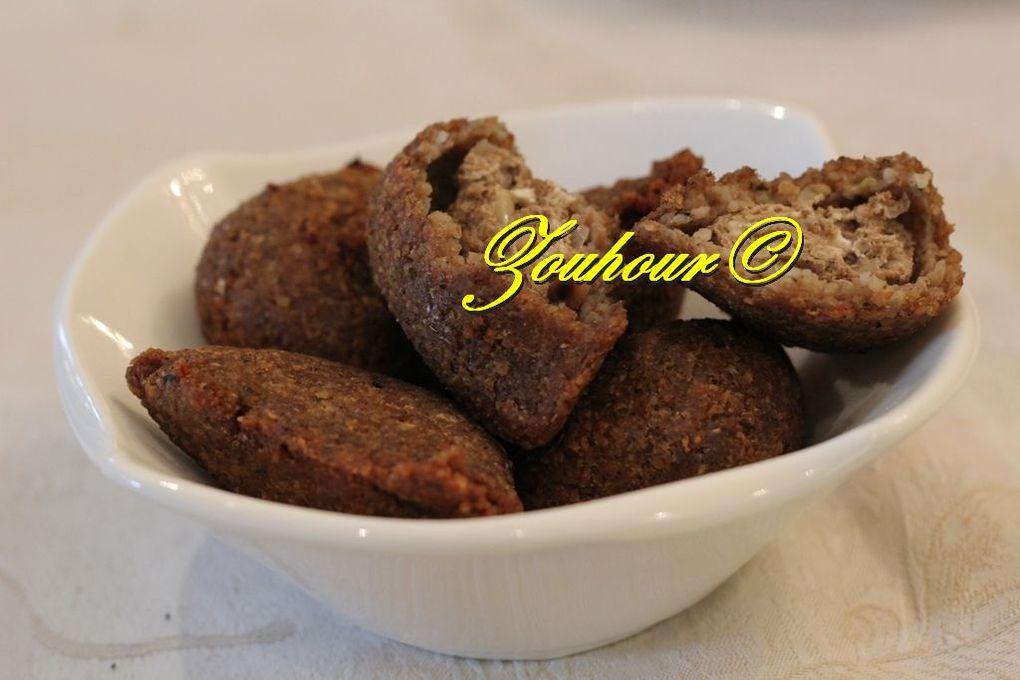 Kibbé frit au labné