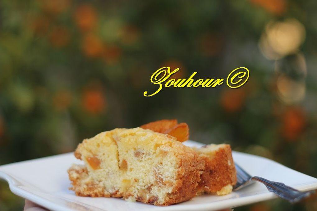 Cake à l'Orange Confite, Cake Bil Bousfeir