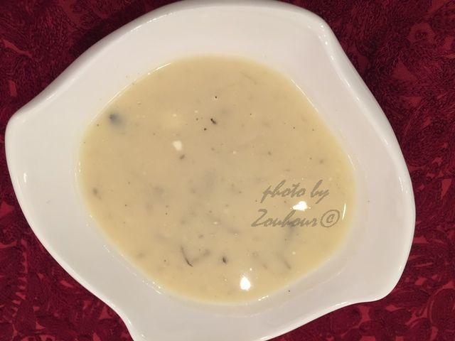 Velouté de radis noir, Black Radish Soup