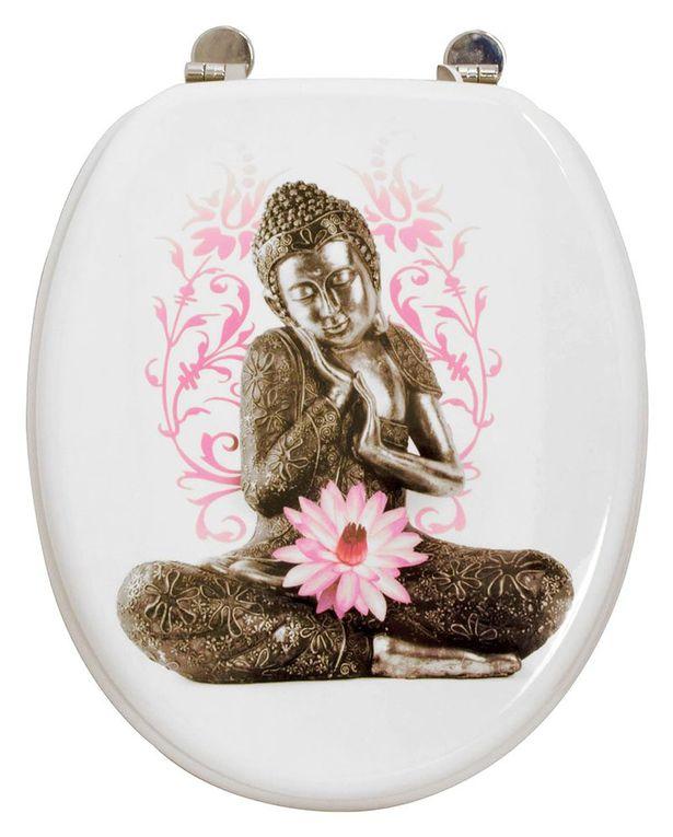 Non aux bouddhas sur les cuvettes des WC !