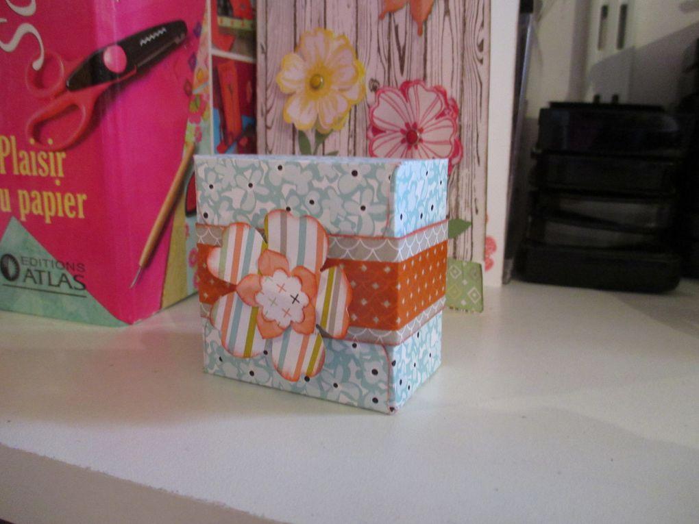 Des petites boites avec la punch board