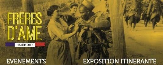 Journée d'hommage aux soldats des colonies 14-18 enterrés à Bordeaux.