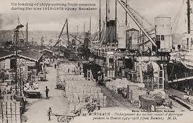 Le port, les docks, les Capus en 1900