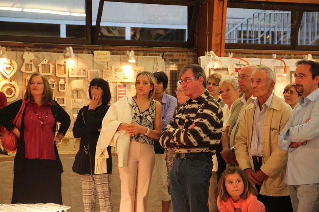 Vernissage de l'exposition.