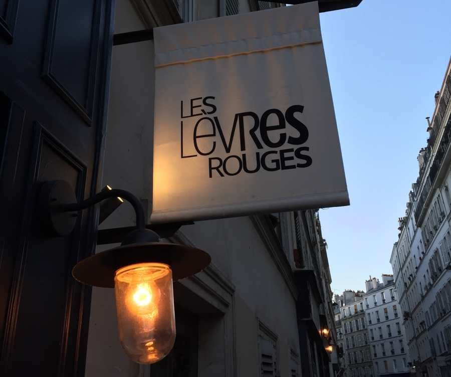 les lèvres rouges, un nouveau bistrot à Montmartre