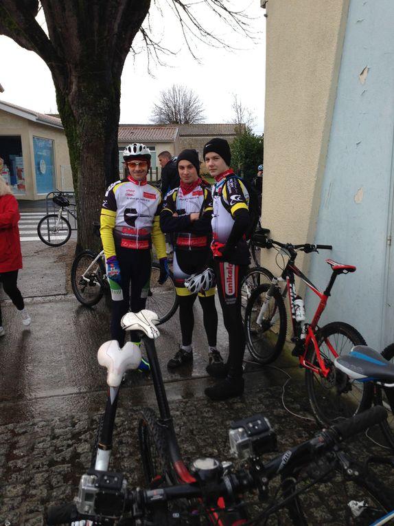 Rando VTT a Castres Gironde