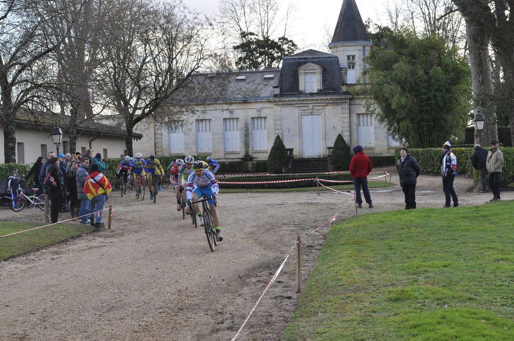 Compte rendu du cyclo cross de CASTRES GIRONDE du dimanche 25 janvier
