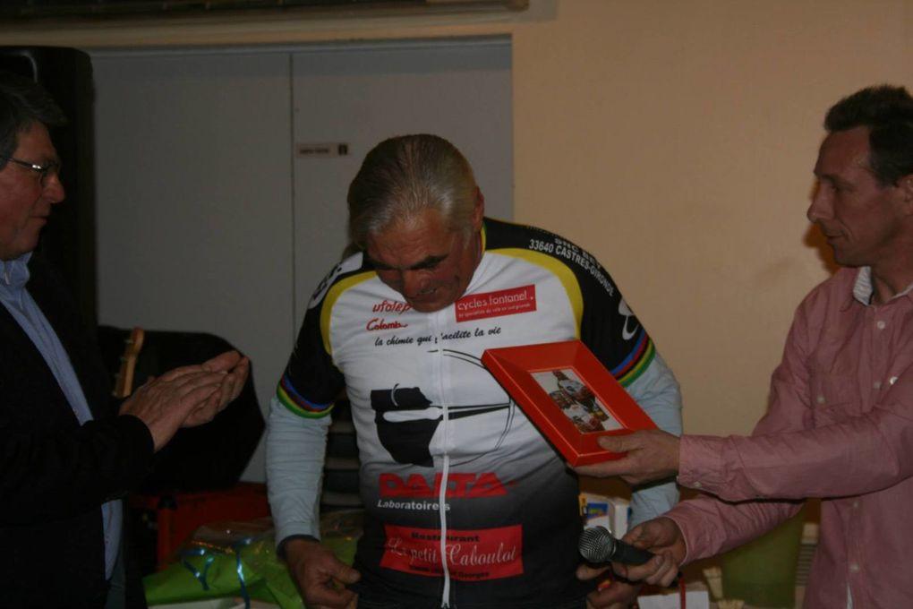 Repas de fin d'année du Castres Cyclo Club