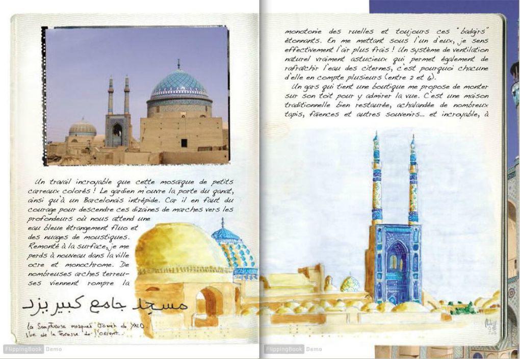 Publication du livre &quot&#x3B;Iran&quot&#x3B; aux Editions Elytis collection &quot&#x3B;passeport pour le monde&quot&#x3B;