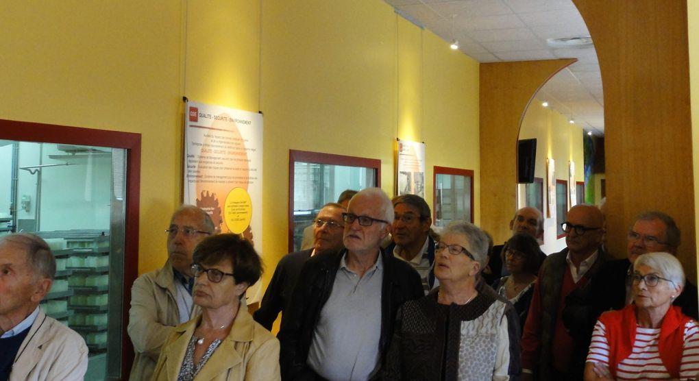 Visite de la fromagerie le jour de l'Assemblée générale du 20 septembre 2016 dont je n'ai pas reçu le compte-rendu