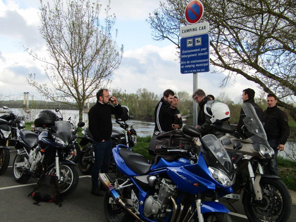 Balade vers Saumur du Team de la Madone 44
