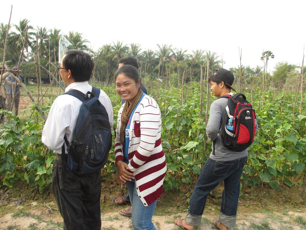 La sortie découverte au village en images...