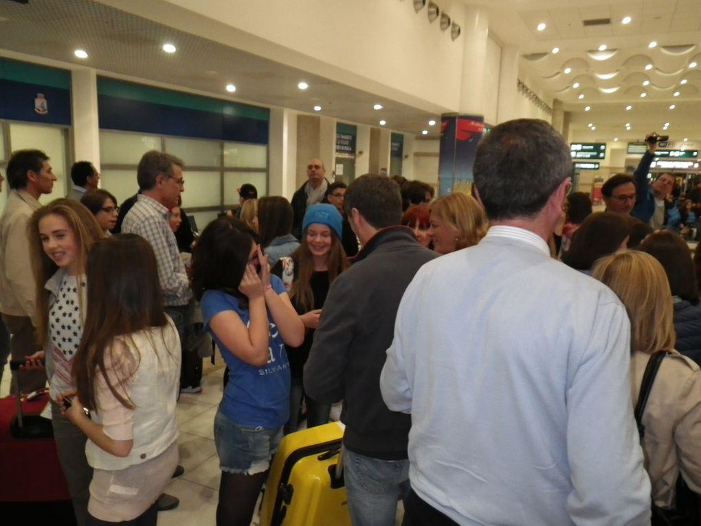2014-05-10 Chaleur ... humaine à l'arrivée à Bari