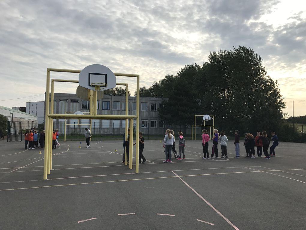 Journée d'intégration et du sport scolaire en 6ème