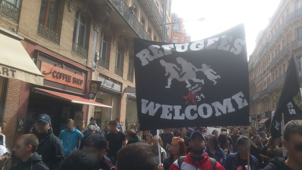 Contre l'Europe forteresse : refugees welcome !
