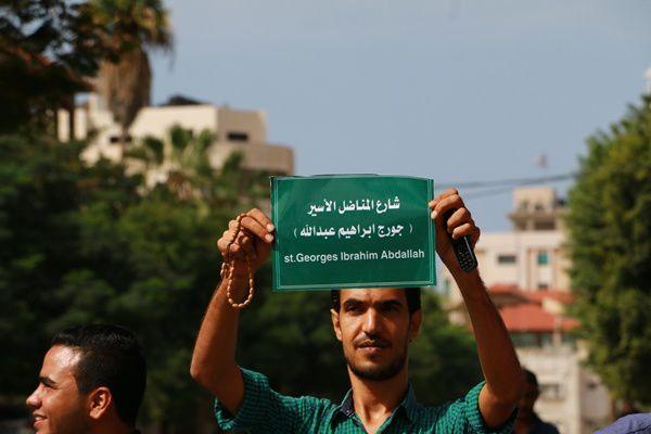 Succès de la journée internationale de soutien à Georges Abdallah !