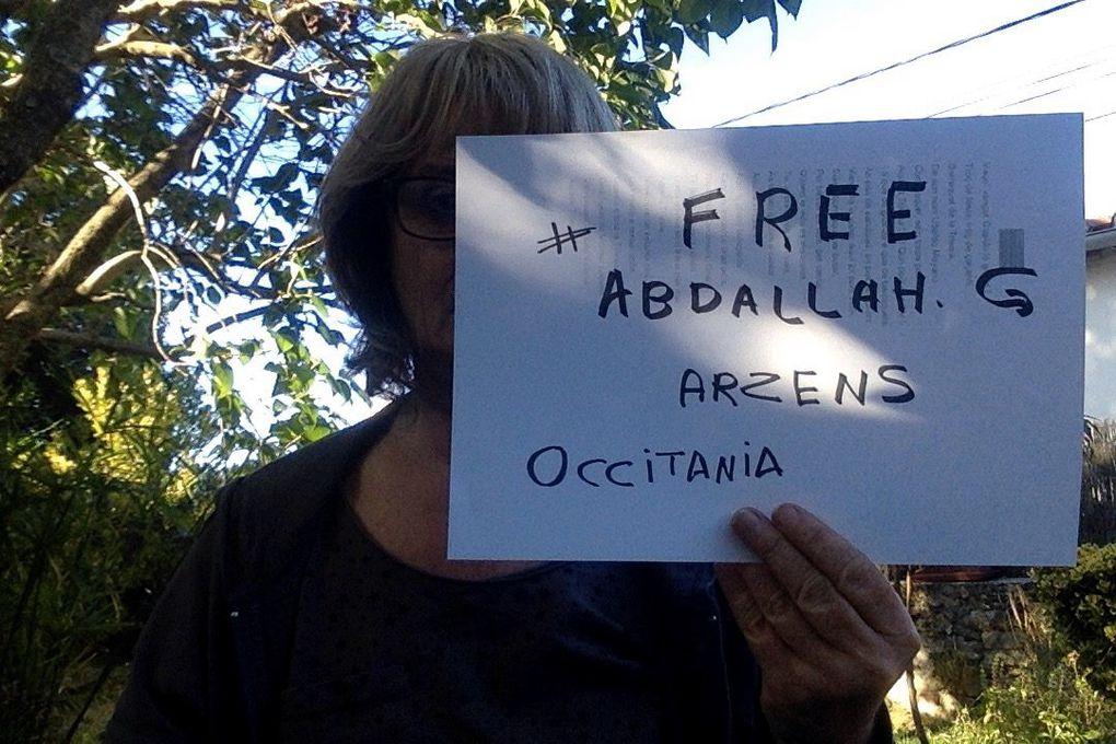 Des centaines de selfies solidaires pour Georges Abdallah !