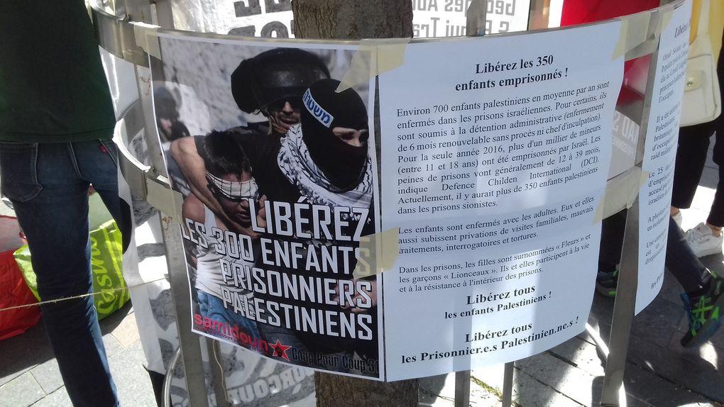 Depuis Toulouse, solidarité avec tous les Prisonniers Palestiniens !