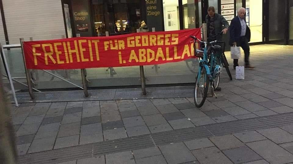 Dans 20 pays, l'exigence de la libération de Georges Abdallah grandit !