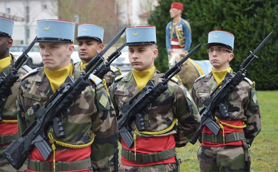 Visite du Général de Corps d'Armée PACCAGNINI, Gourverneur Militaire de Metz