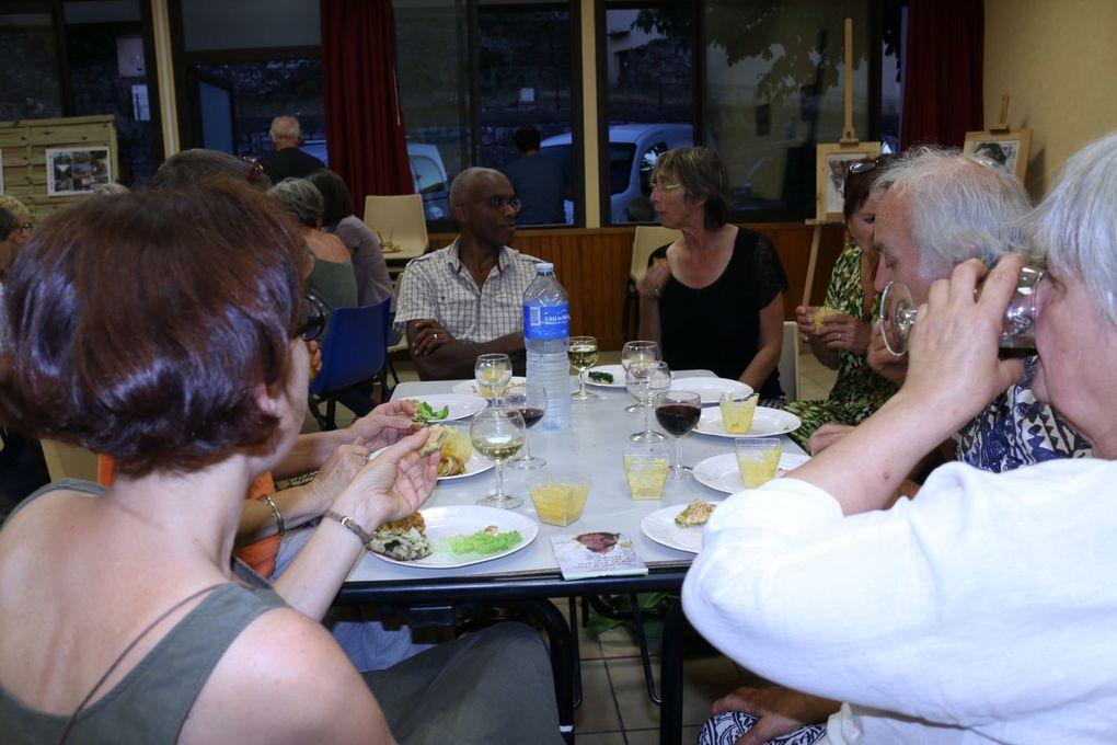 CR soirée du vendredi 16 juin - à St Vincent d'Olargues