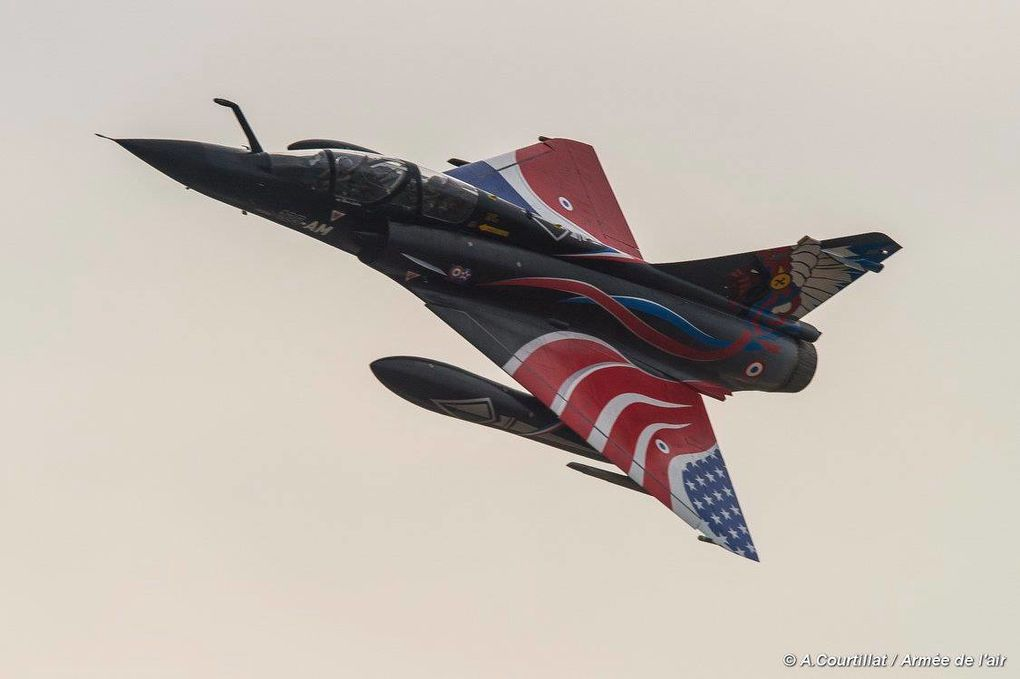 L'Escadron de Chasse 2/4 La Fayette fête son centenaire