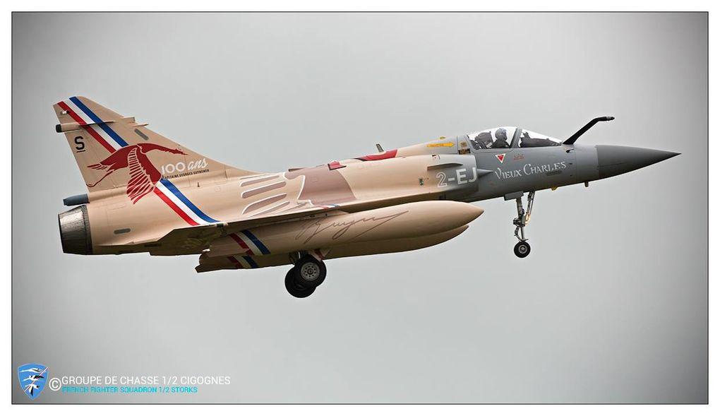 © SIRPA Air / Armée de l'Air / GC 1/2 «Cigognes».