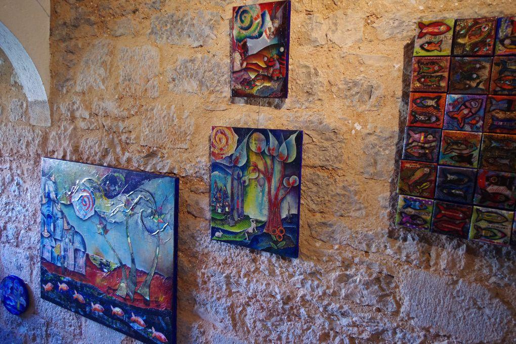 EXPOSITION AU GRÉZALIDE, Hôtel***, galerie d'art à Grèze