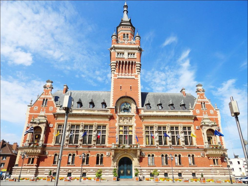 Hôtel de ville de Dunkerque ( Nord 59 ) AA