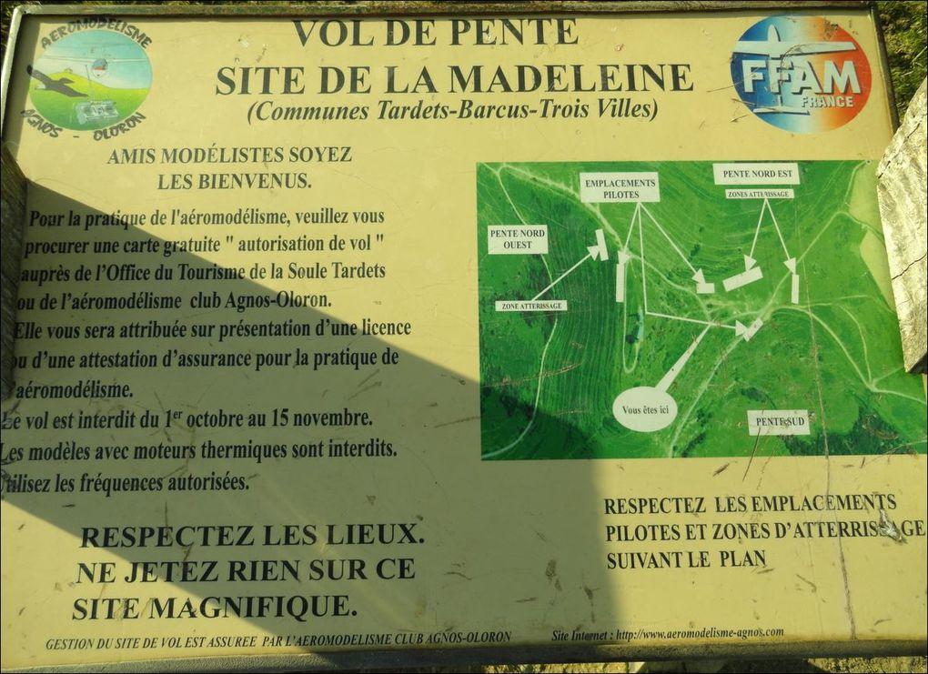 Tardets-Sorholus à la Madeleine , variante route , Tardets-Sorholus ( Pyrénées-Atlantiques 64 ) AAA Rando