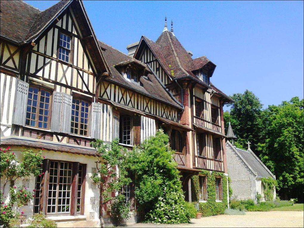 Manoir de Villers, Saint-Pierre-de-Manneville (Seine-Maritime 76) AAA