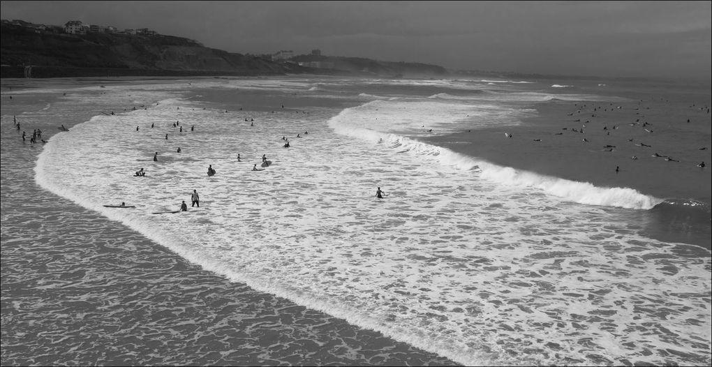 Plage de la Côte des Basques, Biarritz (Pyrénées-Atlantiques 64) AA
