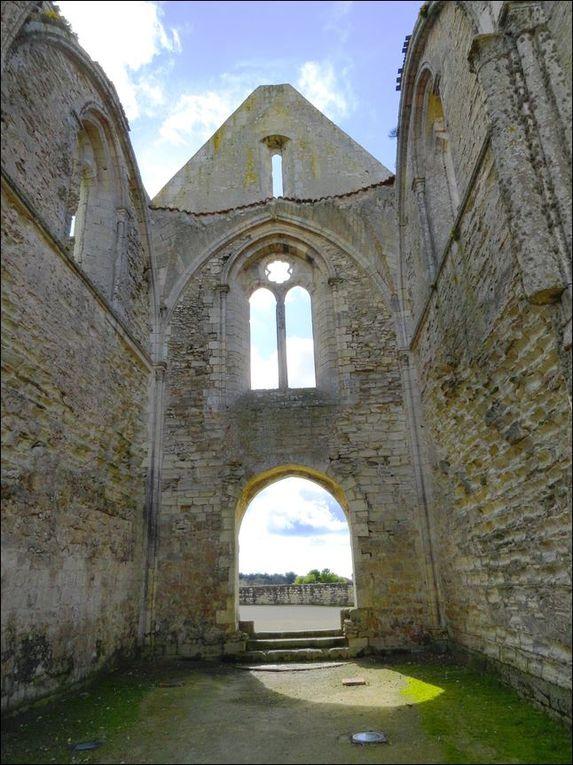 Abbaye des Châteliers, la Flotte-en-Ré (Charente-Maritime 17) A