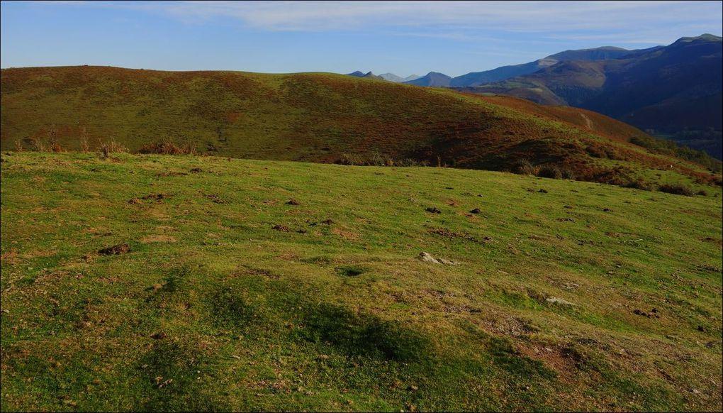 Soum de Basta et soum de Caubi depuis Ayné (Hautes-Pyrénées 65) Rando AA